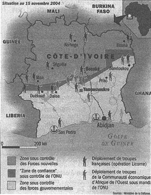 Sur la reprise de la guerre civile en cote d'ivoire et les tueries