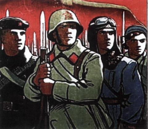 Imagini pentru red army soldier